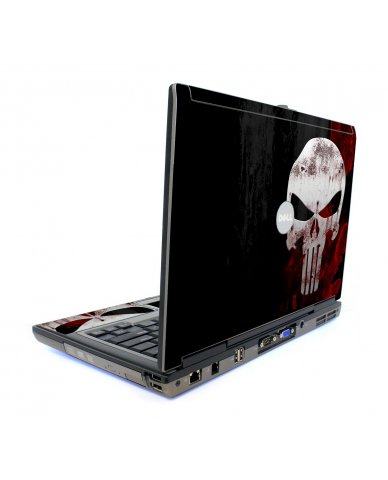 Punisher Skull Dell D620 Laptop Skin