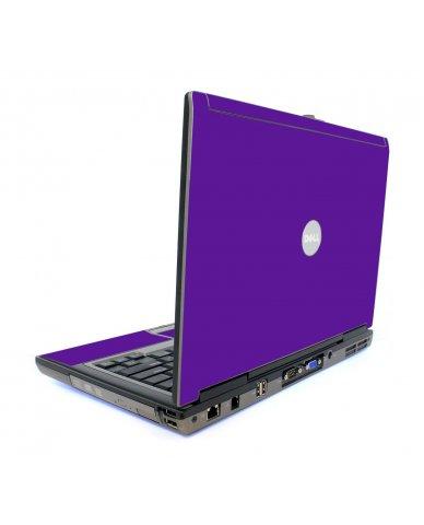 Purple Dell D620 Laptop Skin