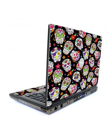 Sugar Skulls Dell D620 Laptop Skin