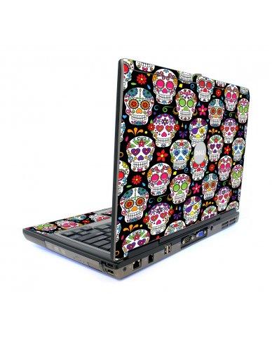 Sugar Skulls Seven Dell D620 Laptop Skin