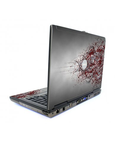 Tribal Grunge Dell D620 Laptop Skin