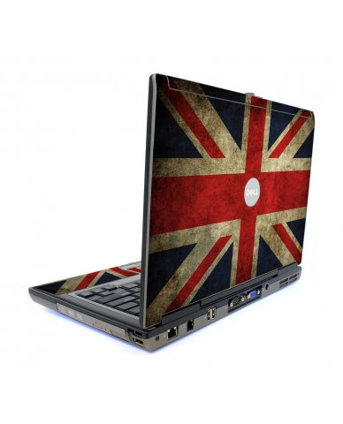 British Flag Dell D820 Laptop Skin