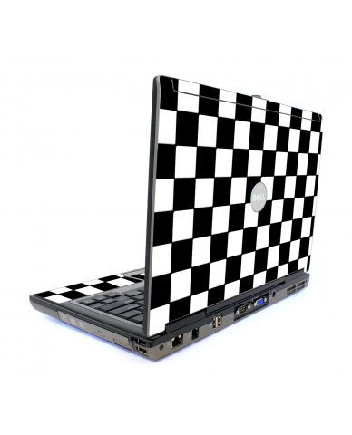 Checkered Dell D820 Laptop Skin