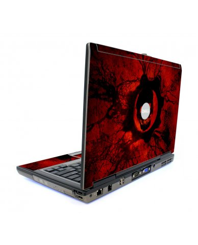 Dark Skull Dell D820 Laptop Skin
