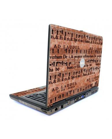 Latin Sheet Music Dell D820 Laptop Skin
