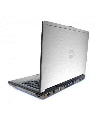 Mts #1 Aluminum Textured Vinyl Dell D820 Laptop Skin