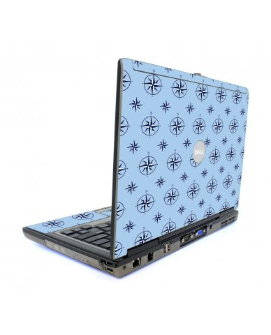 Nautical Blue Dell D820 Laptop Skin