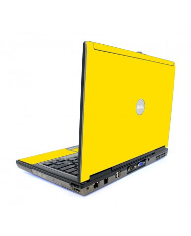 Yellow Dell D820 Laptop Skin