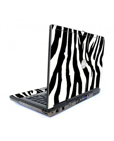 Zebra Dell D820 Laptop Skin