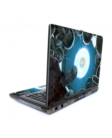 Zombie Horde Dell D820 Laptop Skin