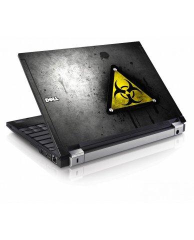Black Caution Dell E4200 Laptop Skin