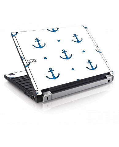 Blue Anchors Dell E4200 Laptop Skin