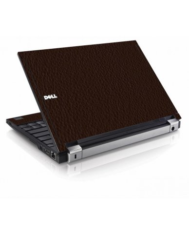 Brown Leather Dell E4200 Laptop Skin