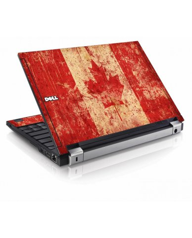 Canada Flag Dell E4200 Laptop Skin