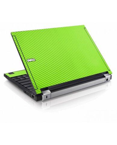 Green Carbon Fiber Dell E4200 Laptop Skin