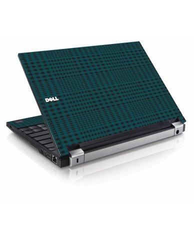 Green Flannel Dell E4200 Laptop Skin