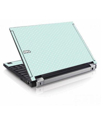 Light Blue Polka Dell E4200 Laptop Skin
