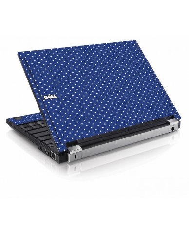Navy Polka Dot Dell E4200 Laptop Skin