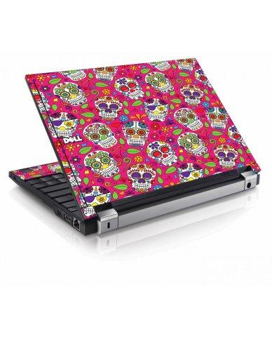 Pink Sugar Skulls Dell E4200 Laptop Skin