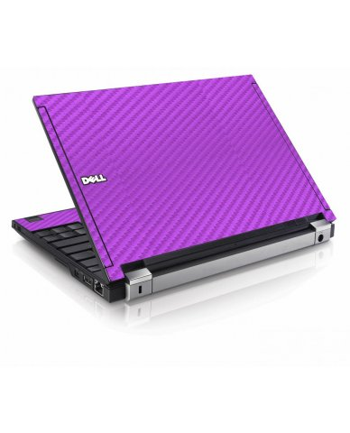 Purple Carbon Fiber Dell E4200 Laptop Skin