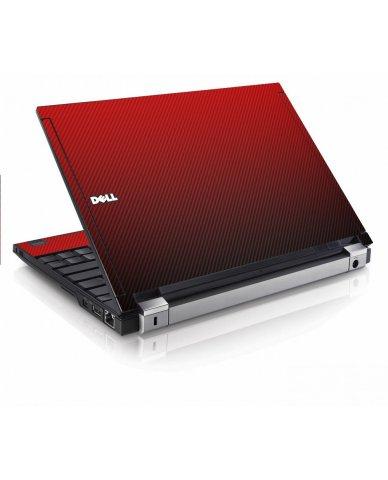 Red Carbon Fiber Dell E4200 Laptop Skin