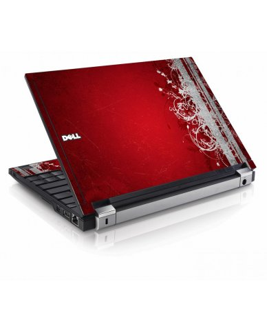 Red Grunge Dell E4200 Laptop Skin
