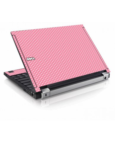 Retro Polka Dot Dell E4200 Laptop Skin