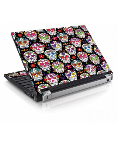 Sugar Skulls Seven Dell E4200 Laptop Skin