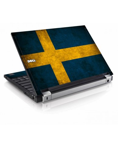 Swedish Flag Dell E4200 Laptop Skin