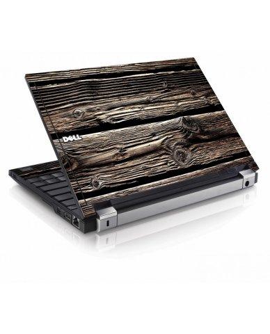 Wood Dell E4200 Laptop Skin
