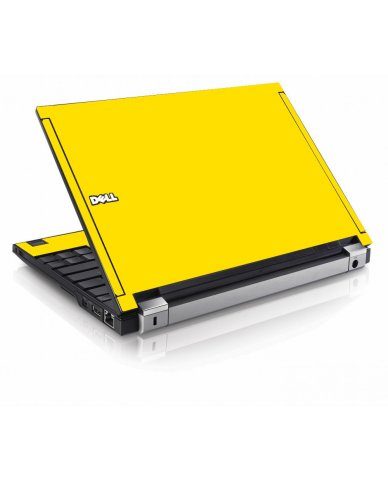 Yellow Dell E4200 Laptop Skin