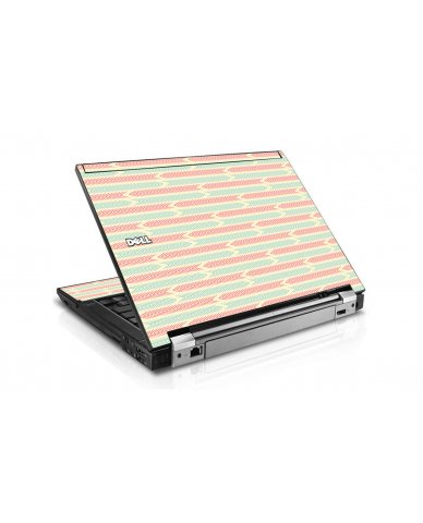 Crazy Circus Stripes Dell E4300 Laptop Skin