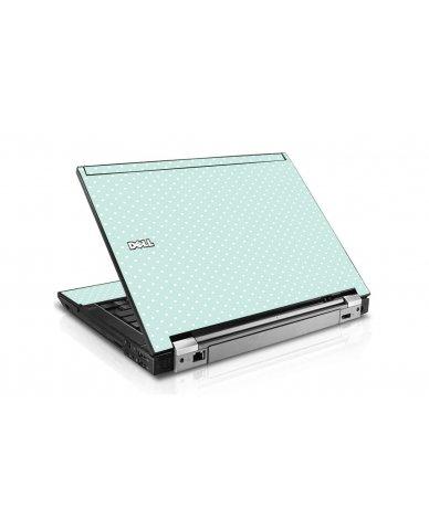 Light Blue Polka Dell E4300 Laptop Skin