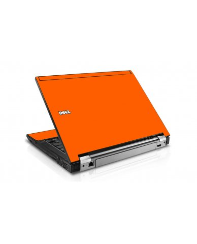 Orange Dell E4300 Laptop Skin