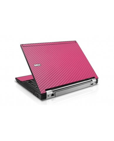 Pink Carbon Fiber Dell E4300 Laptop Skin