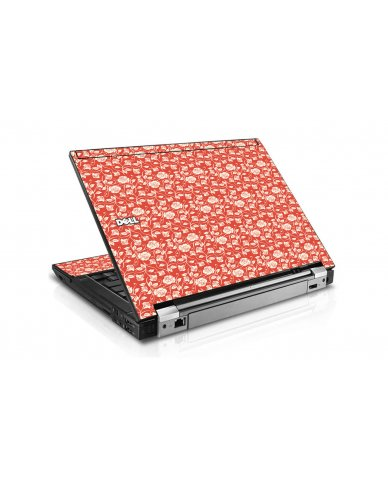 Pink Roses Dell E4300 Laptop Skin