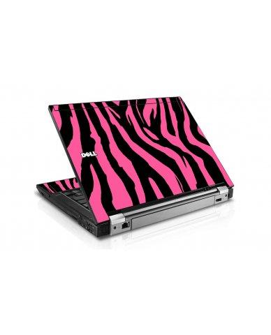 Pink Zebra Dell E4300 Laptop Skin