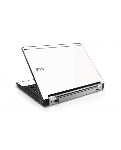 White Dell E4300 Laptop Skin