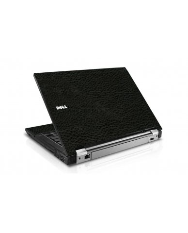 Black Leather Dell E4310 Laptop Skin