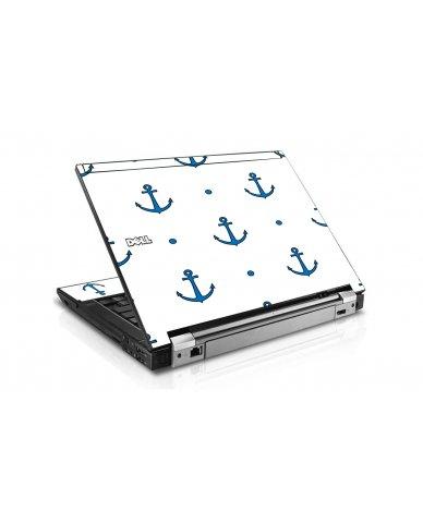 Blue Anchors Dell E4310 Laptop Skin