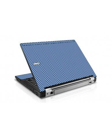 Blue On Blue Chevron Dell E4310 Laptop Skin