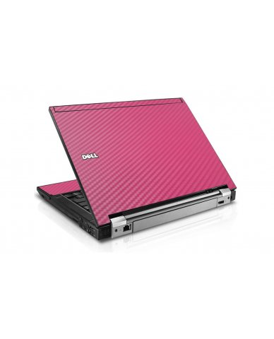 Pink Carbon Fiber Dell E4310 Laptop Skin