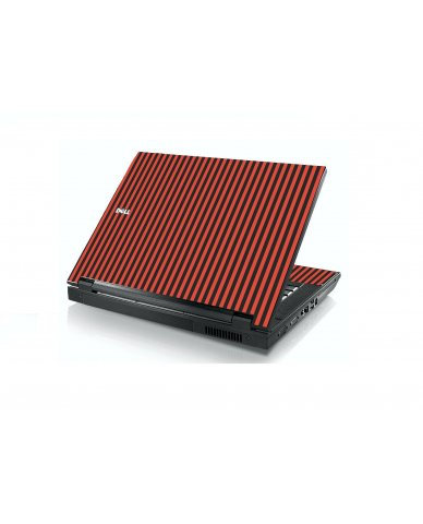 Black Red Versailles Dell E5400 Laptop Skin