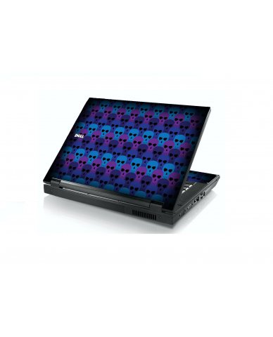Blue Skulls Dell E5400 Laptop Skin