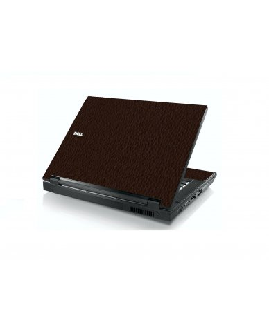 Brown Leather Dell E5400 Laptop Skin