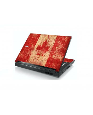 Canada Flag Dell E5400 Laptop Skin