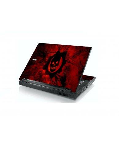 Dark Skull Dell E5400 Laptop Skin