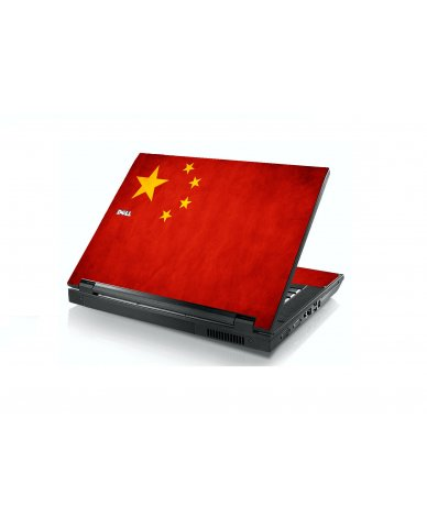 Flag Of China Dell E5400 Laptop Skin