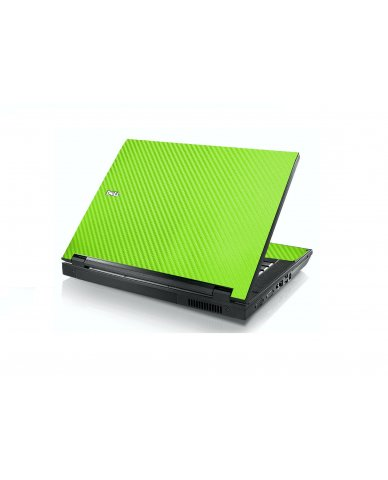 Green Carbon Fiber Dell E5400 Laptop Skin