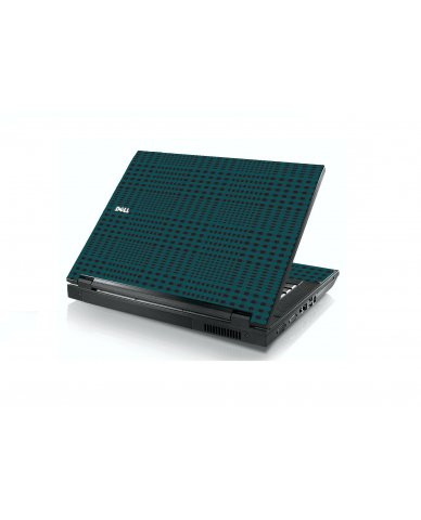 Green Flannel Dell E5400 Laptop Skin